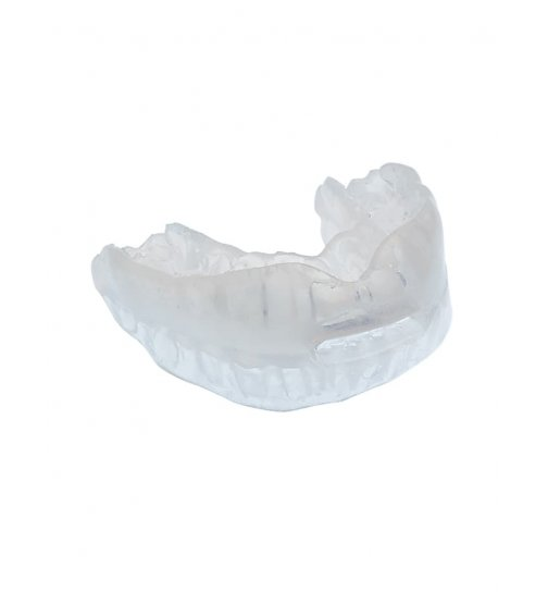 Anti snoring mouthpiece to treat snoring and obstructive sleep apnoea syndrome