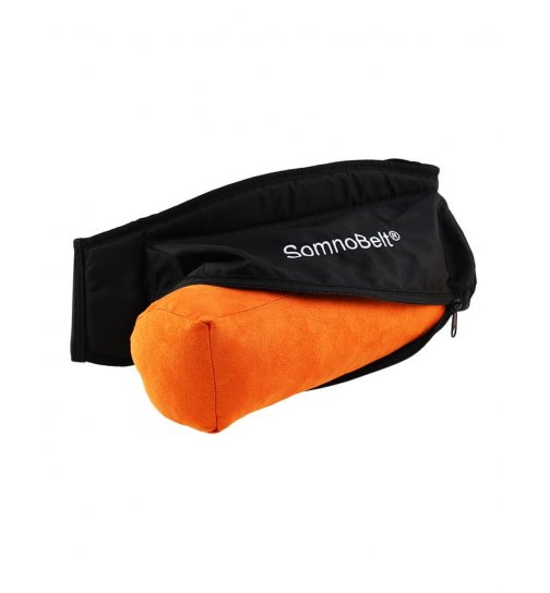 Anti snoring belt for the correct sleeping position