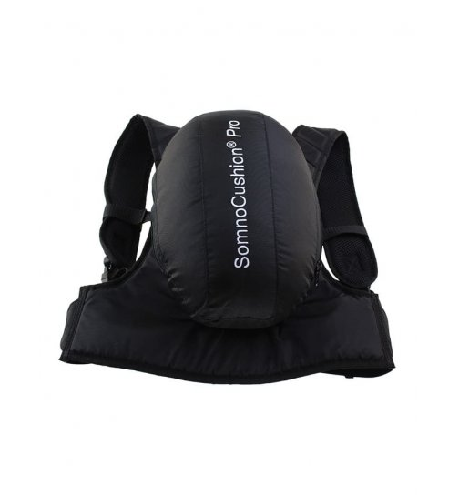 SomnoCushion pro is a positional sleep device against snoring and sleep apnoea